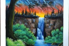 Peta-Lonski-Learning-To-Paint-Waterfall